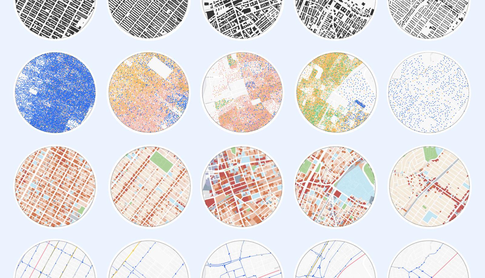 Morphocode Explorer - Interactive tool for urban analysis